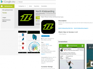 North Kiteboarding apps